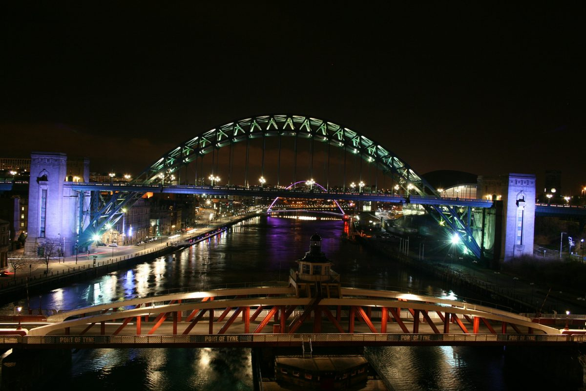 Telensa lighting up the Port of Tyne with their Smart Outdoor Lighting Solution