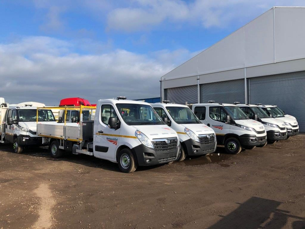 Vauxhall pickups road fleet