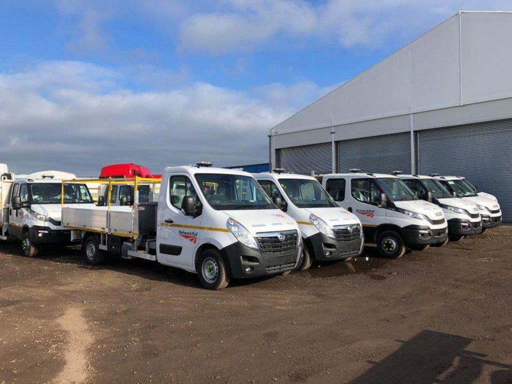 Vauxhall pickups road fleet