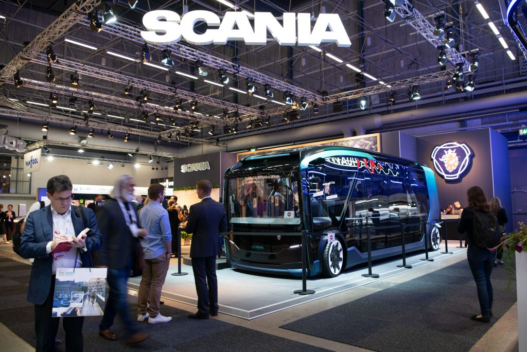 Scania NXT modular concept vehicle is taking urban transport to the level