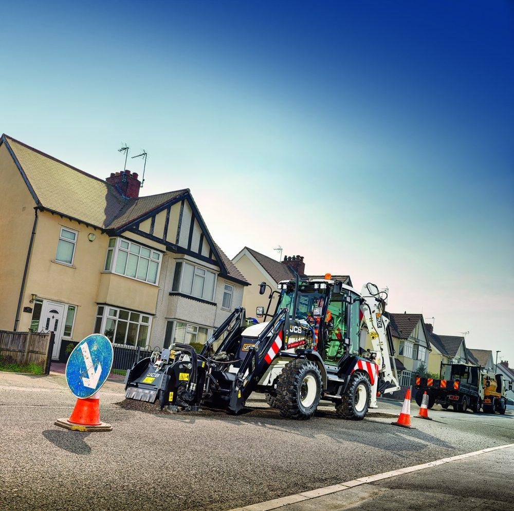 JCB unveils a versatile pothole warrior - the Highway Master