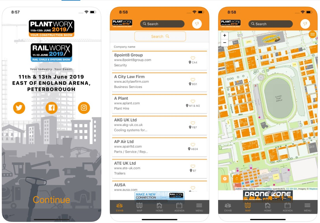 Plantworx 2019 has its very own Smartphone App