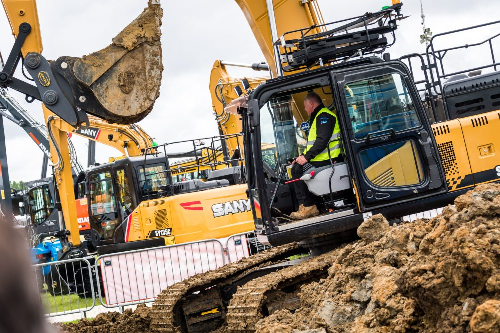 Demonstrations are key at PLANTWORX 2019 for Sany