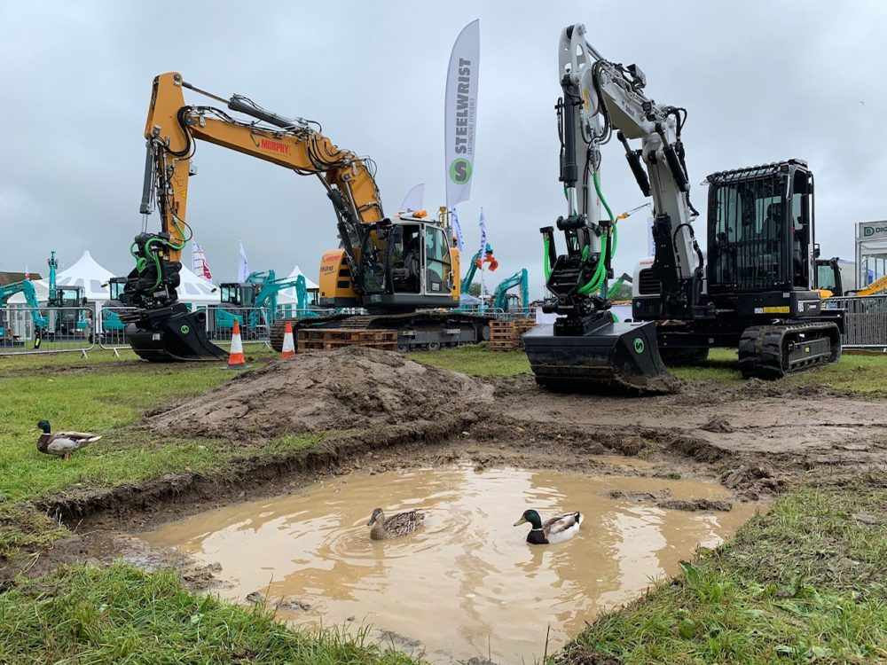 The ducks enjoyed PLANTWORX as well.