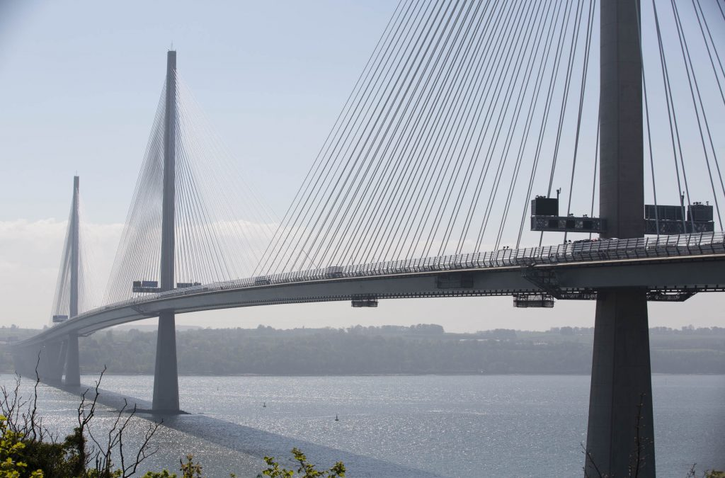 Testing of painting platform for Queensferry Bridge enabled with help from Mabey Hire