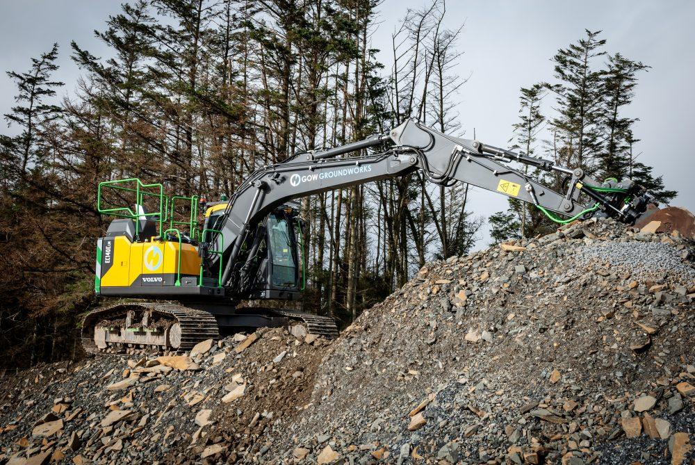Meet Alan Gow's new Volvo widespread excavator