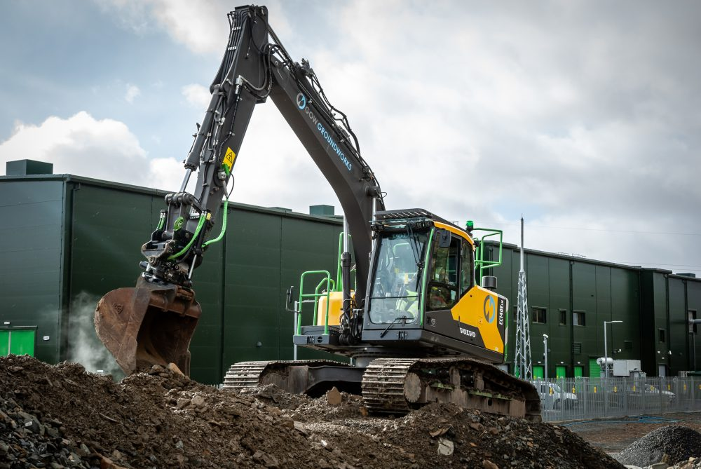 Meet Alan Gow's new Volvo widespread excavator