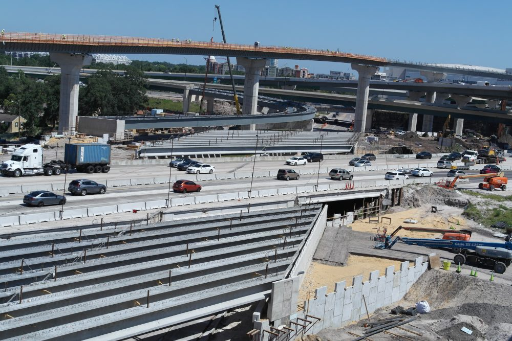 Transformation taking shape on the I-4 SR 408 Interchange in Orlando