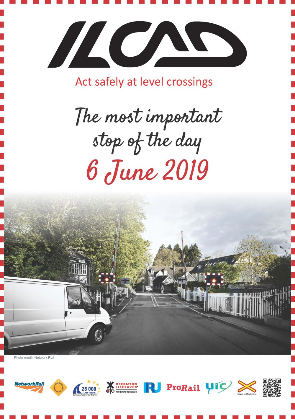 1 in 5 professional drivers will risk a level crossing according to the train timetable