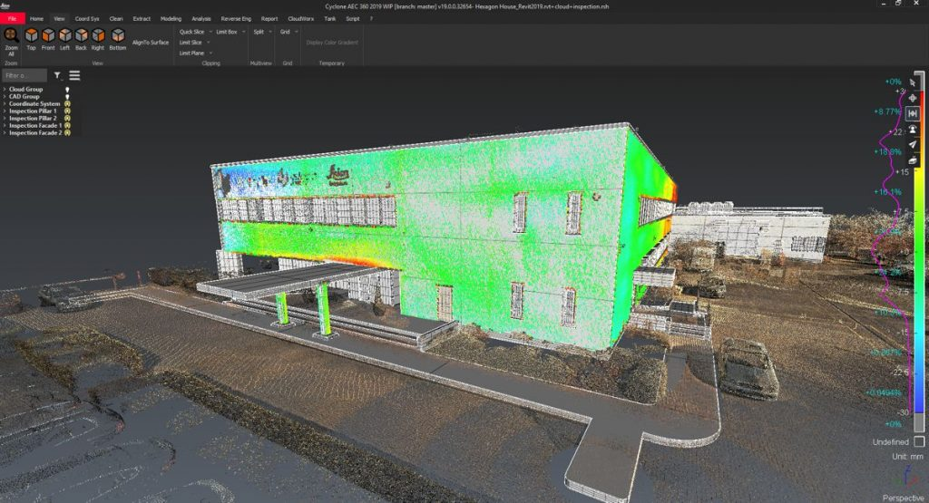 The new Leica Cyclone 3DR laser enables rapid validation of design and construction activities through the integration of Leica JetStream technology and BIM model support.