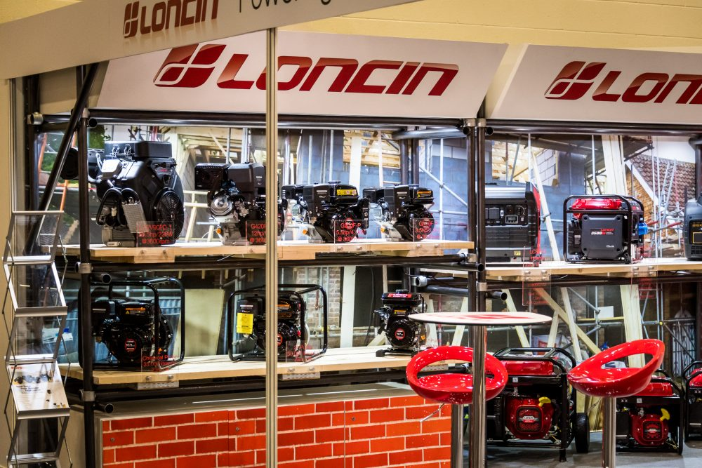 Loncin Barrus wins Best Indoor Static Award