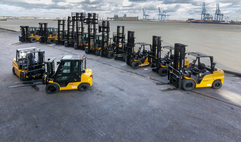 Acclaim the first port of call for SEACON with investment in 13 Hyundai forklifts