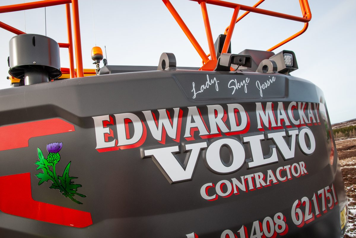 Edward Mackay Contractor purchases fifth Volvo excavator
