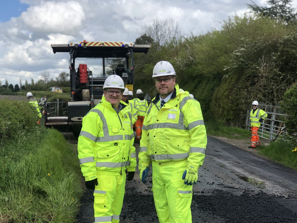 Eurovia helping deliver £15m Transport for Buckinghamshire highways programme