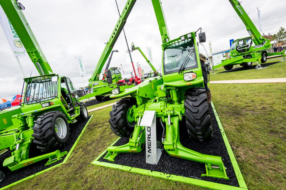 Merlo wins outside static display Award