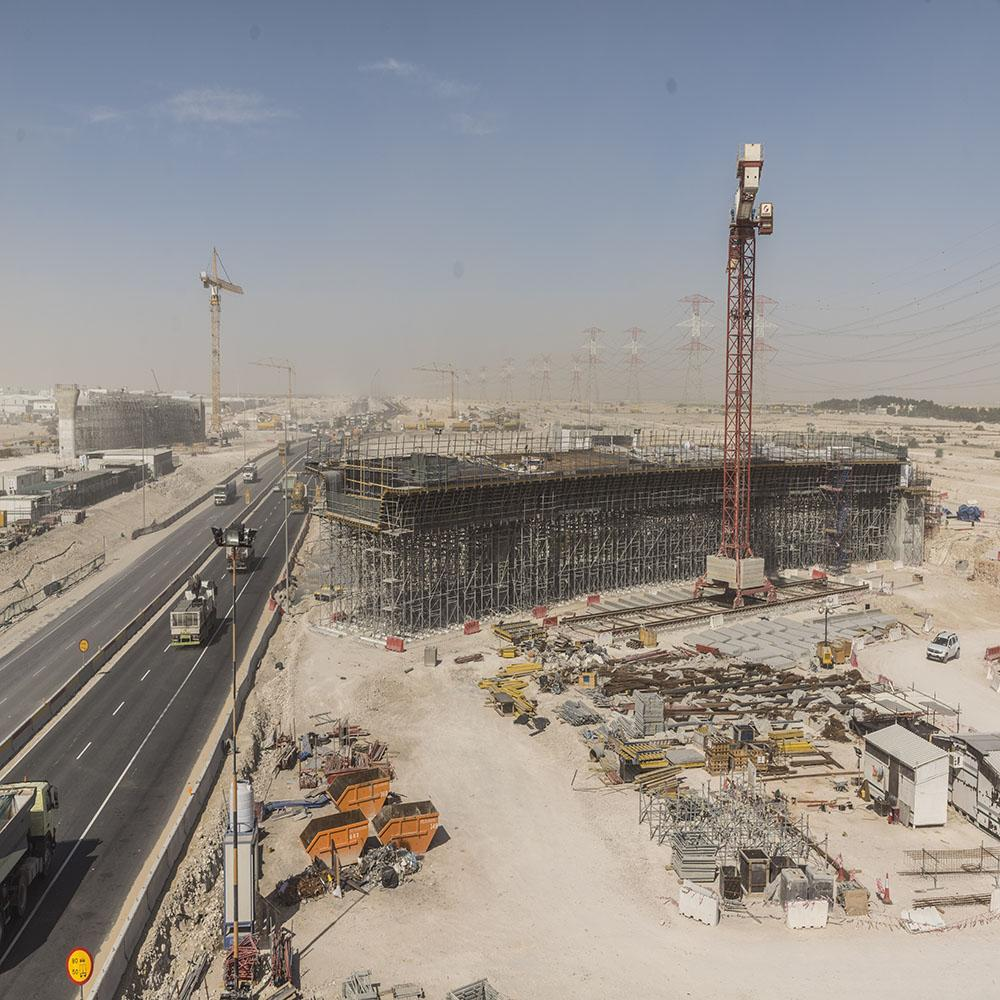 DOKA's technical skills put to the test on the Doha Orbital Highway project