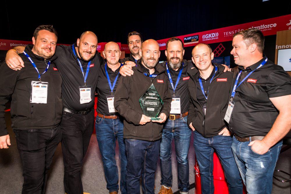 Plantforce wins outstanding contribution award.