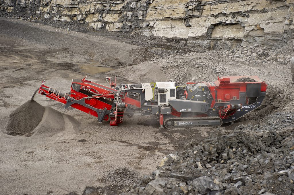 Sandvik launches 2 Series next generation Impact Crushers