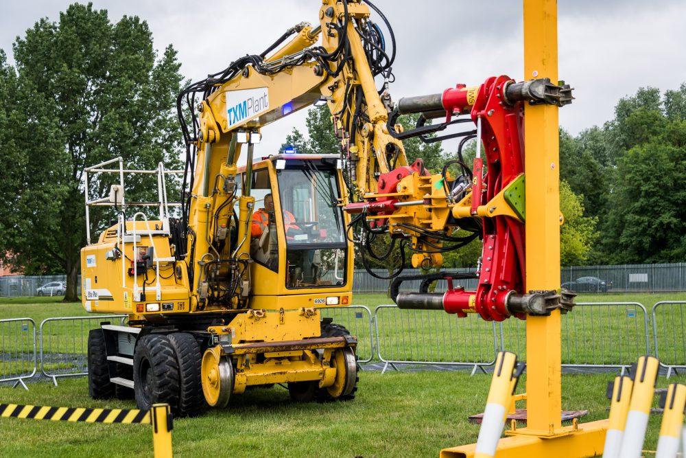 TXM Plant demo at Railworx