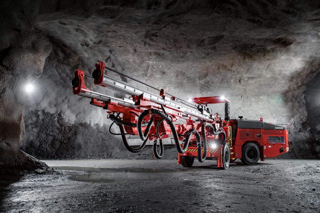 Sandvik DD320S mining drill excels underground