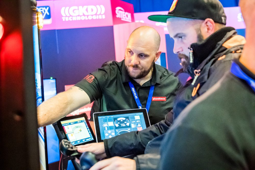 280 hours were clocked up during PLANTWORX in the Simulation Zone