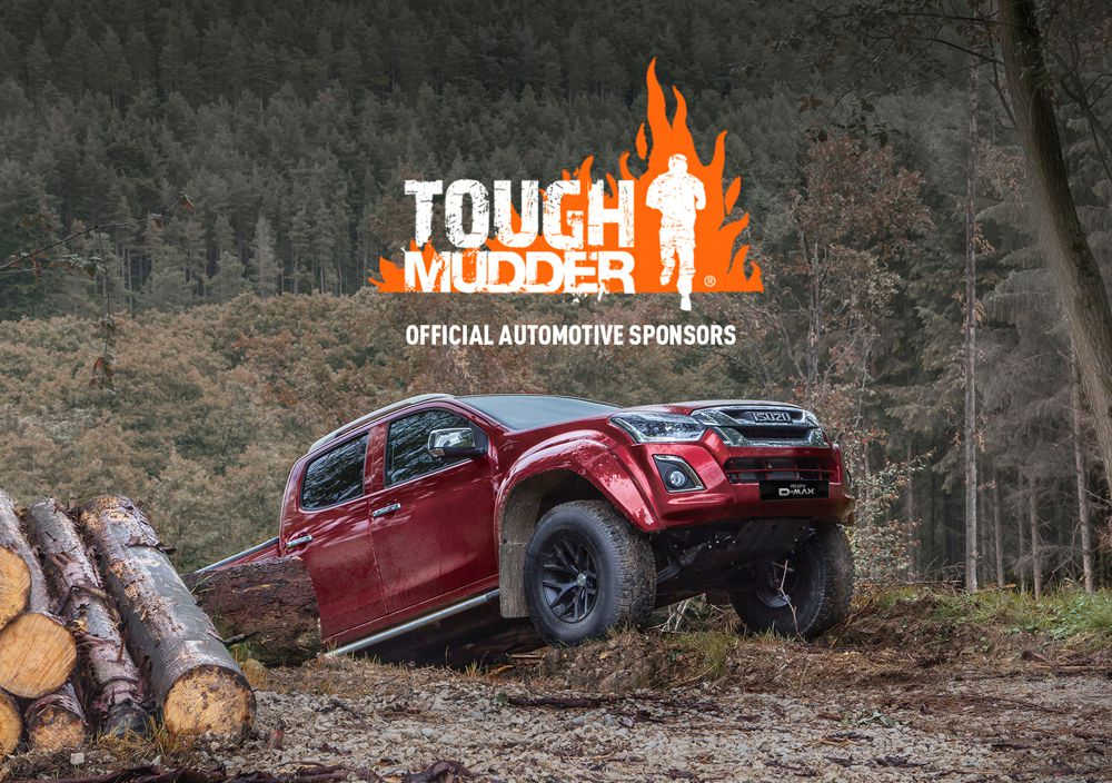 Isuzu D-Max Pickup partners with Tough Mudder for 2019
