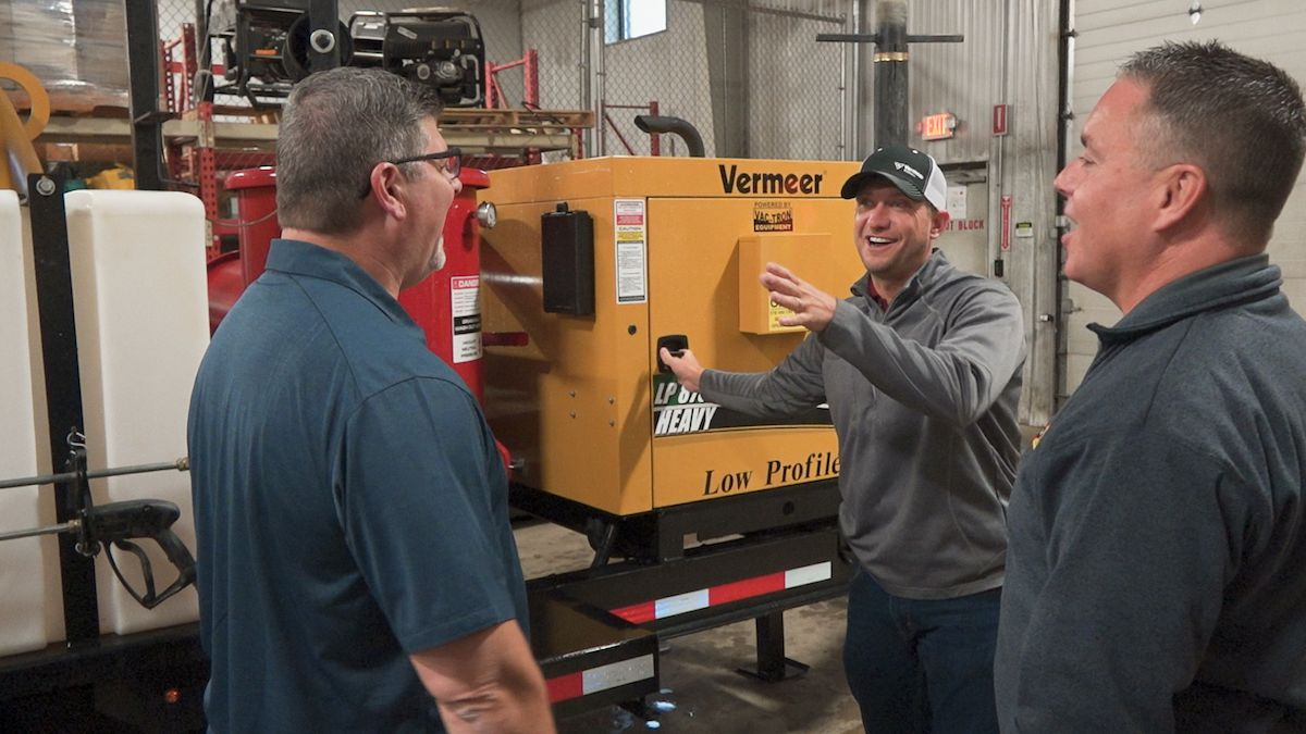 CAT Rental Store customers appreciate the value of Vac-Tron Vacuum Excavators