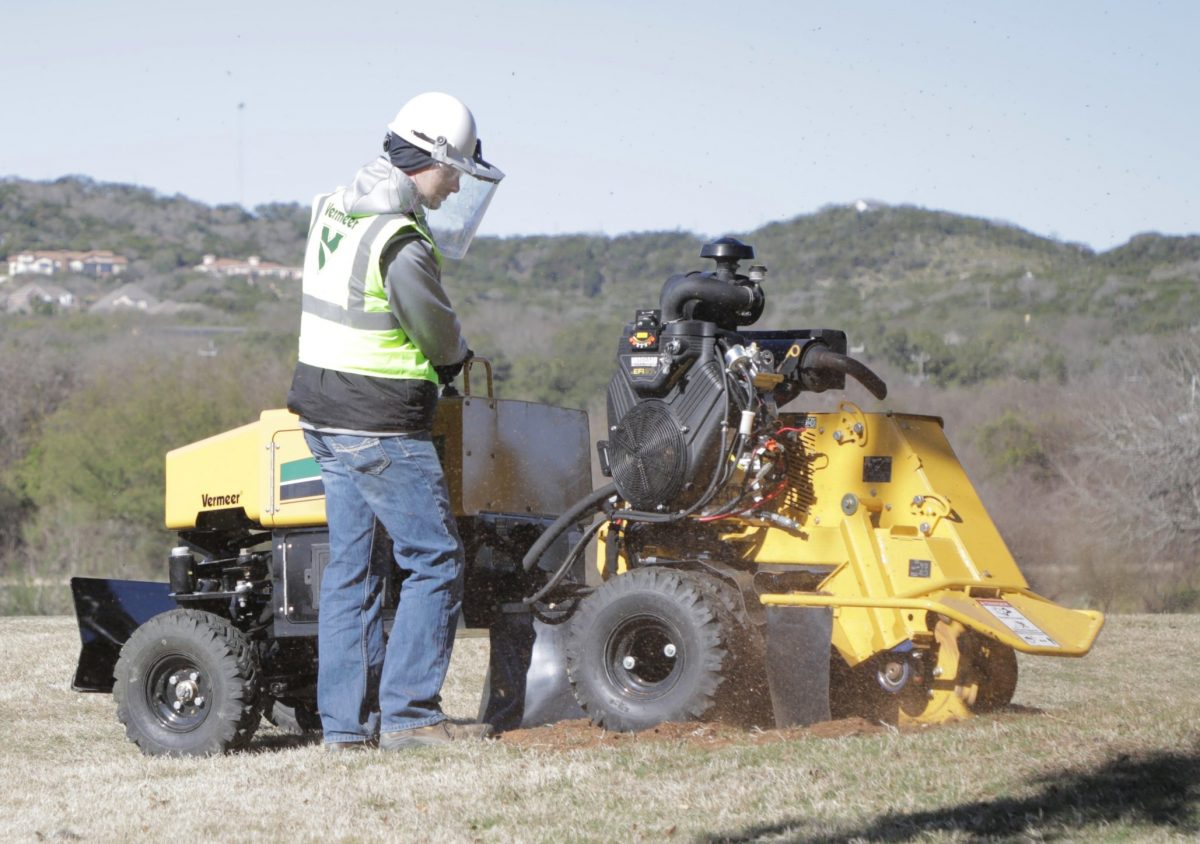 Vermeer's new SC382 Stump Cutter delivers on power and performance
