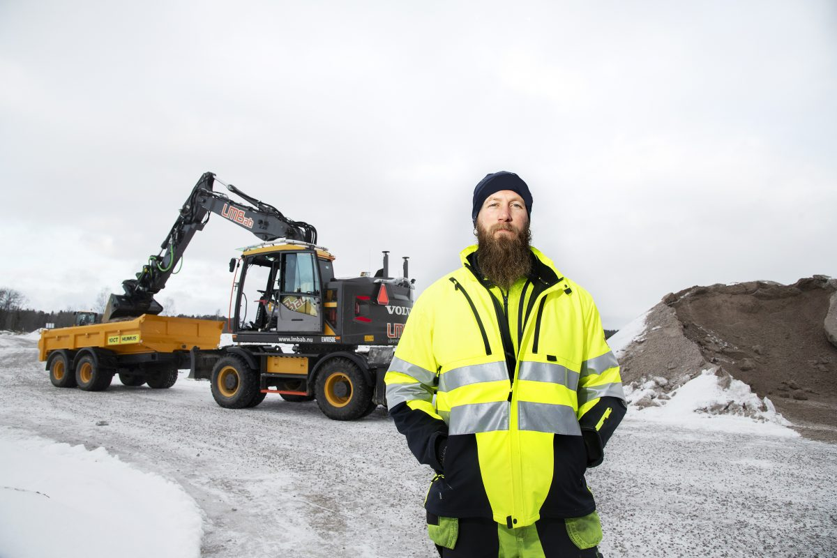 LMBab operator can't live without Volvo Dig Assist