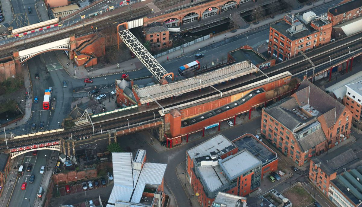 Victorian railway bridge in Manchester city centre to be restored