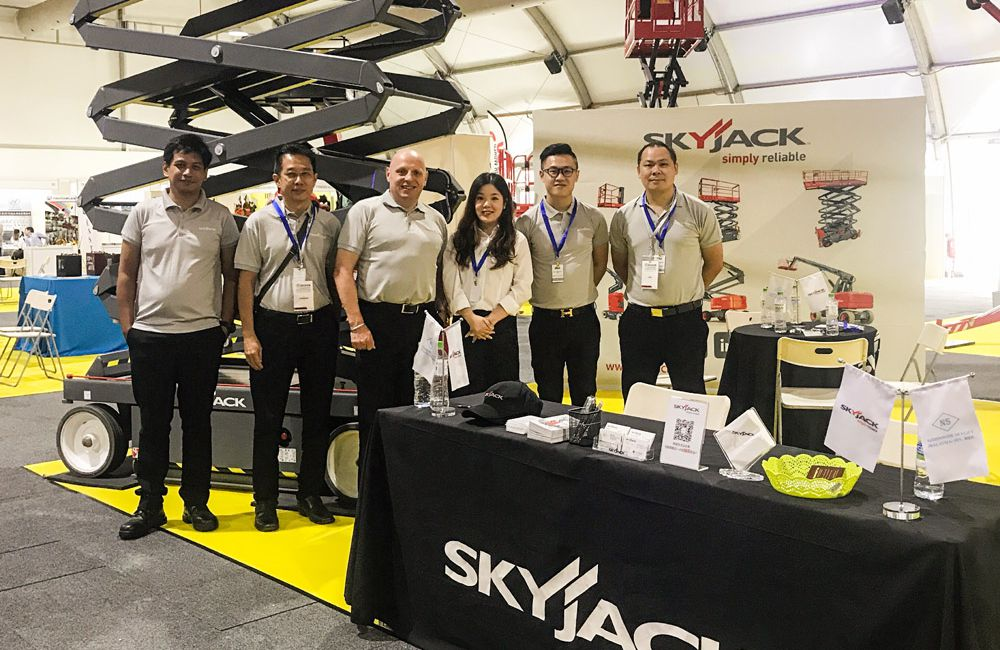 Skyjack shines as a Gold Sponsor at IPAF Asia