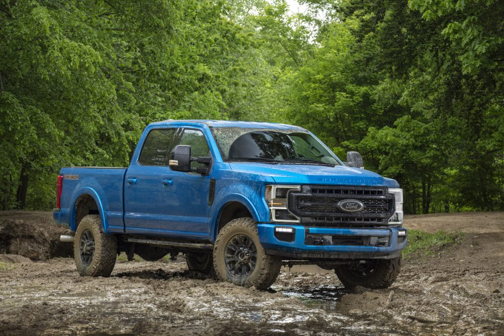 2020 F-Series Super Duty Pickup debuts with rock-crushing Tremor Off-Road Package