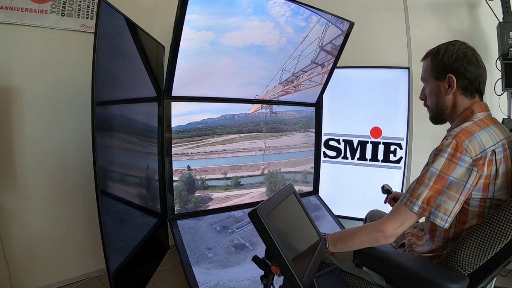 SMIE demonstrates remotely-operated Crane Automation