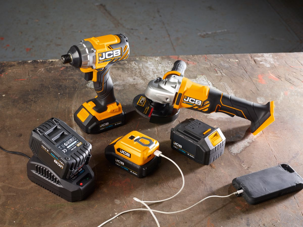 JCB launches a new range of innovate Power Tools - Highways