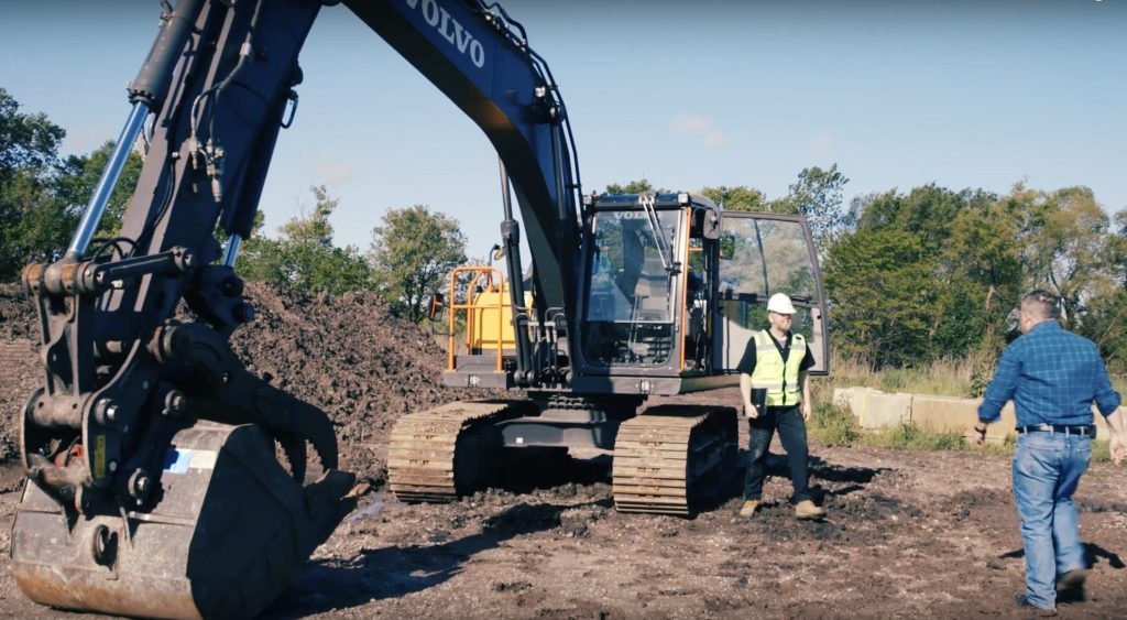 VolvoCE videos lampoon traditional equipment telematics