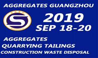 Aggregates Guangzhou 18-20 Sep 2019