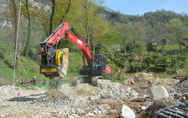 Simple methods to dispose of inert quarry and construction waste material