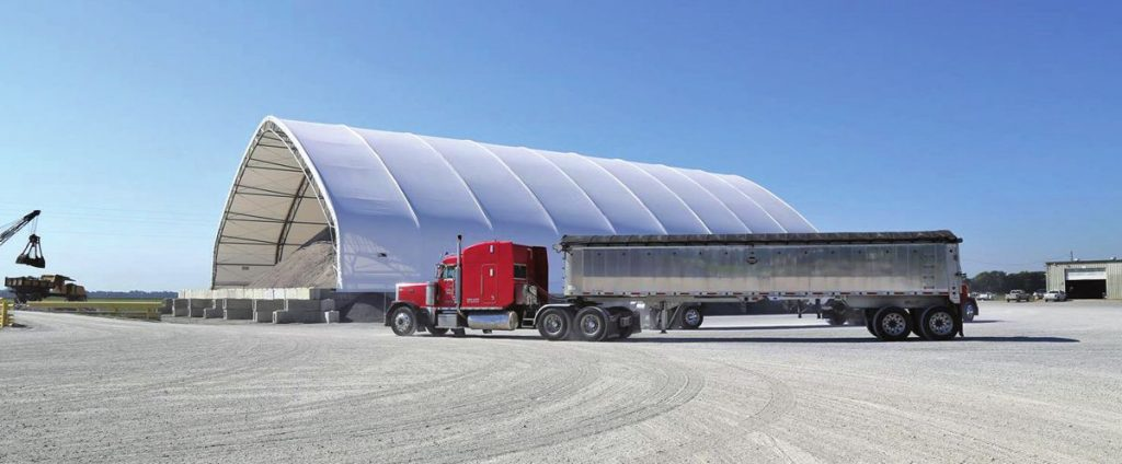 ClearSpan Truss Arch Building a perfect choice for Choctaw Transportation