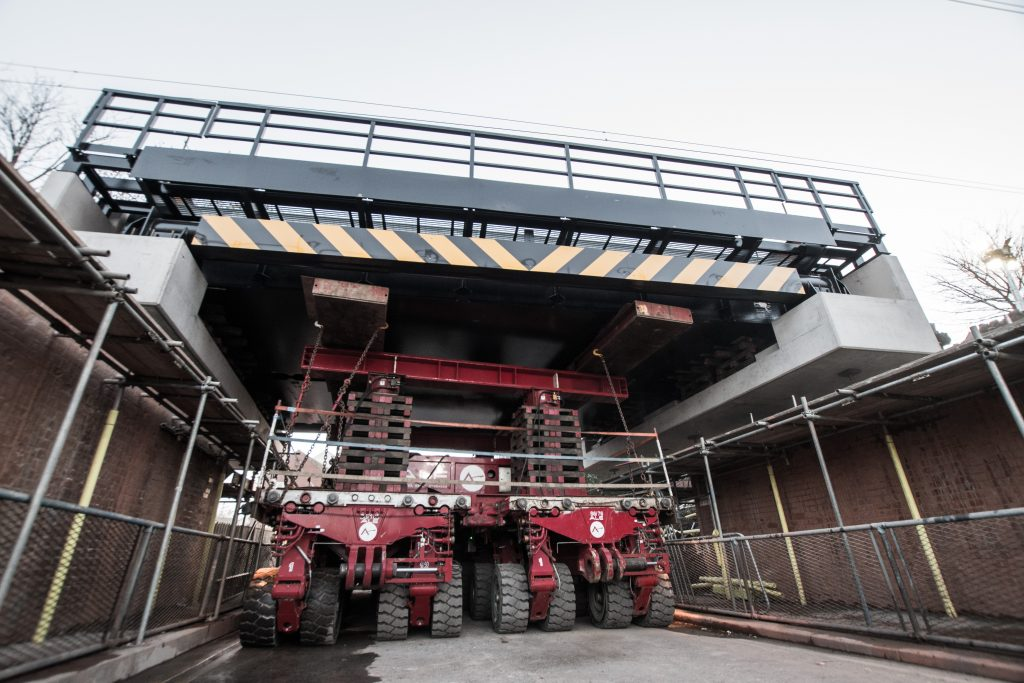 ALE supports Newcastle Metro modernisation with swift double bridge replacement