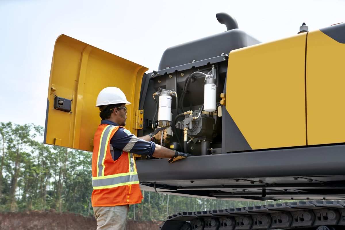 VolvoCE's top maintenance checks to keep your excavator in tip-top condition