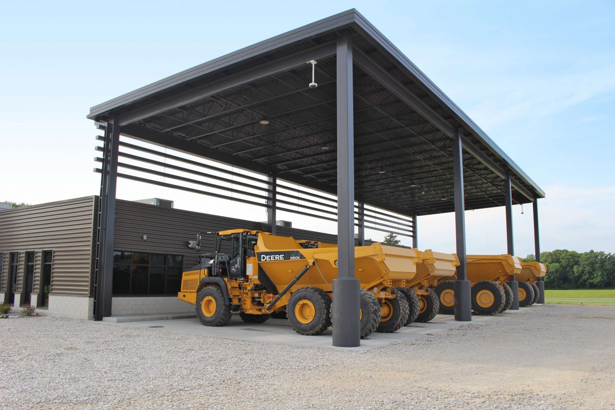 John Deere Construction and Forestry build new training facility in Illinois