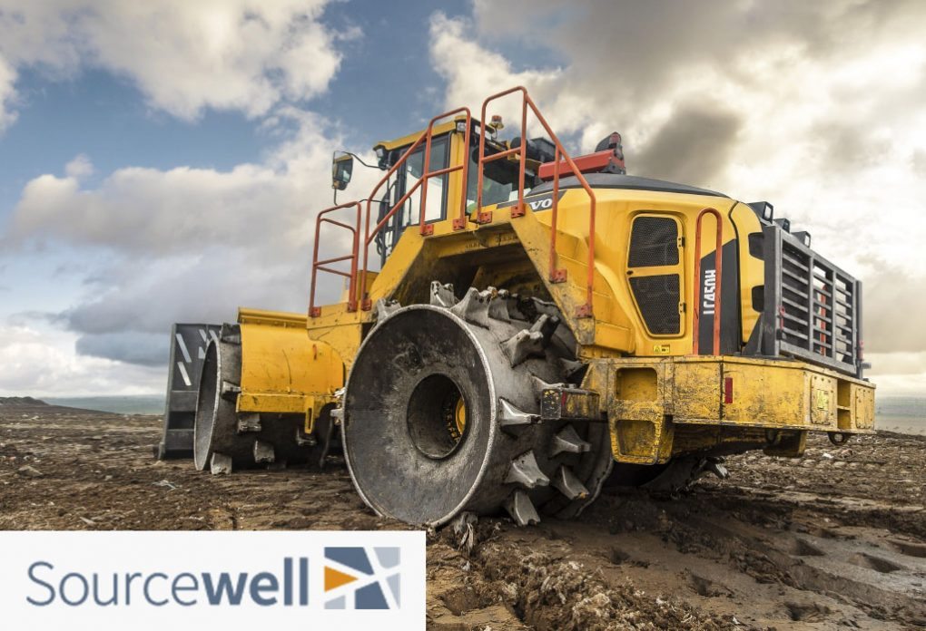 Sourcewell contact awarded for Heavy Equipment to Volvo Construction Equipment