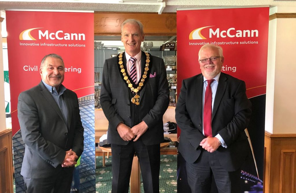 McCann and fellow sponsors turn Chilwell Manor Golf Club's vision into reality