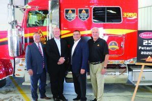 Decker Truck Line celebrates delivery of their 2 500th Peterbilt