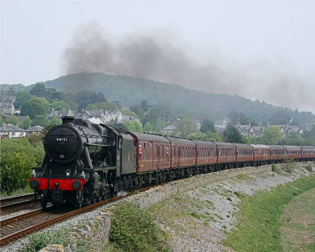 Steam train celebrates reopening of Conwy Valley line - Photo by Phil Metcalfe