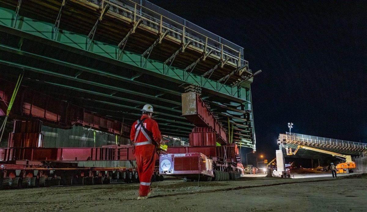 ALE expertise reduces disruption during I-95 bridge installation Connecticut
