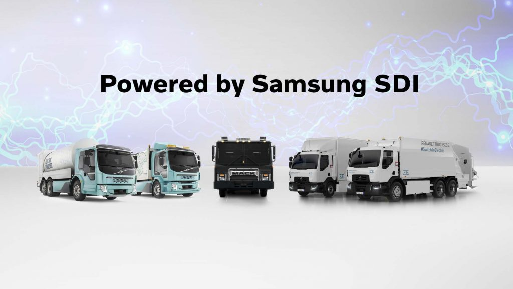 Volvo and Samsung SDI developing a strategic electromobility alliance for electric trucks