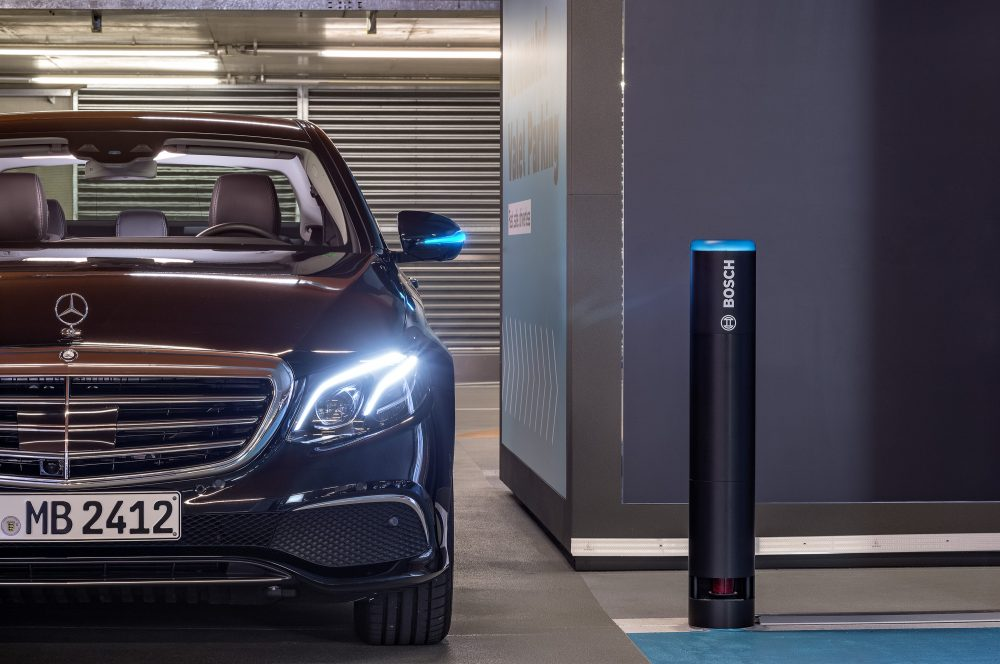 Bosch and Daimler obtain approval for driverless parking without human supervision