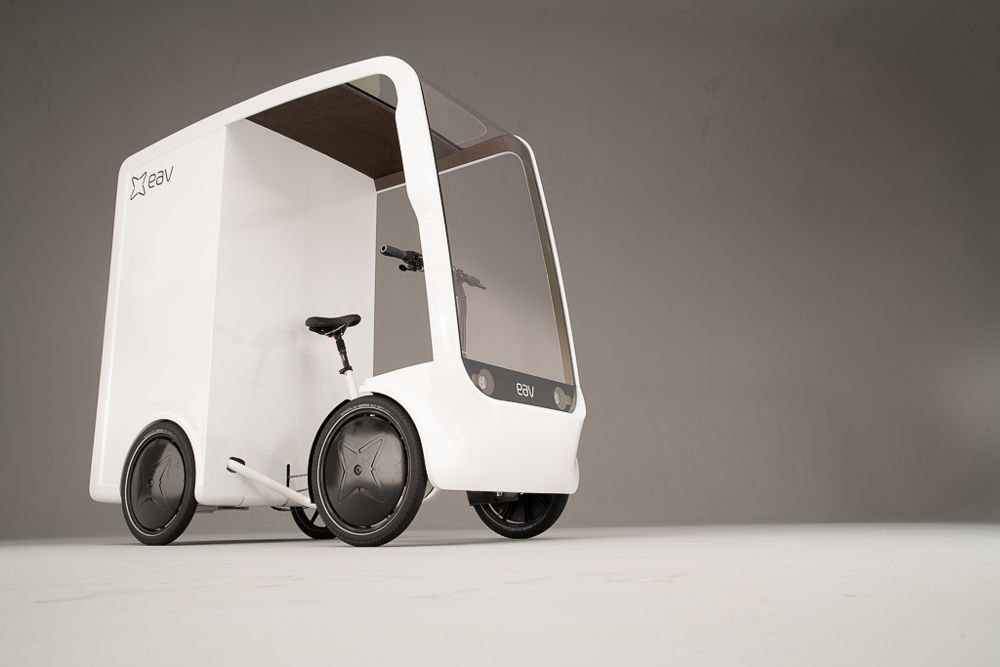 Electric Assisted Vehicles launch the EAVan at the Oxford EV Summit