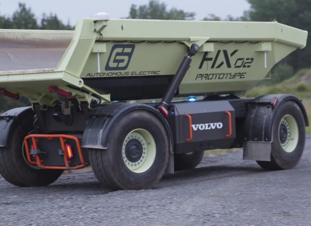 HX2 on the new Eskilstuna R&D test track.